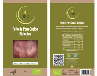 sliced cooked turkey breast ham gluten free +bio 80gr