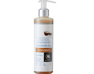 coconut shower gel urtekram 500ml