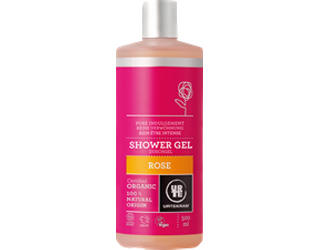 shower gel of roses urtekram 500ml