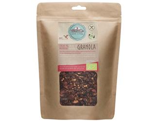 granola cocoa and raspberry gluten free trinca 425gr