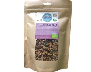 granola fig and walnut gluten free trinca 425gr