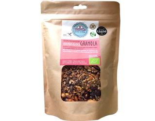 granola arandos e côco s/gluten trinca 400gr