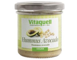 hummus with avocado vitaquell 130gr