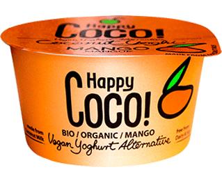 coconut yogurt with mango happy coco 125g