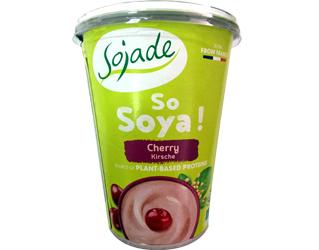 iogurte de soja com cerejas sojade 400gr