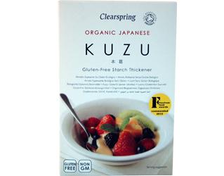 kuzu espessante de amido sem gluten clearspring 125gr