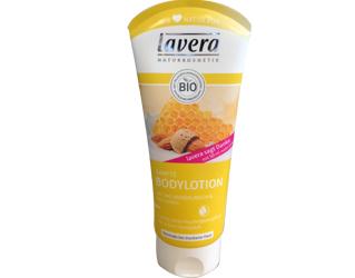 loçao corporal leite de amêndoas e mel lavera 200ml