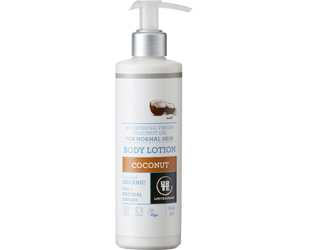 coconut urtekram body lotion 250ml
