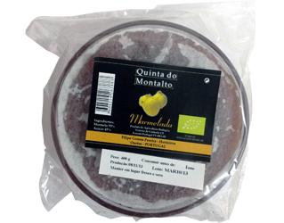 quince marmelade quinta do montalto 400gr