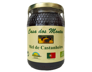 chestnut honey casa dos montes 250gr