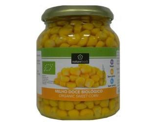 sweet corn gluten free naturefoods 230gr