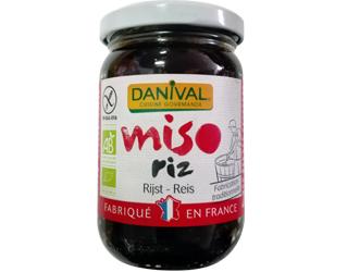 rice miso gluten free danival 200gr