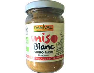 rice and soya white miso gluten free danival 200gr