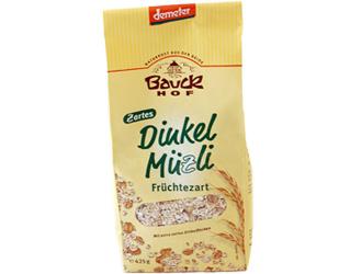 crunch spelt muesli demeter bauck hof 425gr