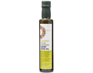 óleo de cânhamo sem glúten sun & seed 250ml