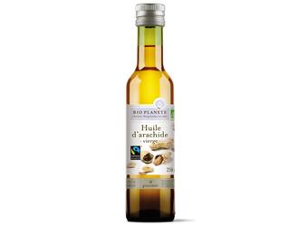 óleo virgem de amendoim bioplanete 250ml