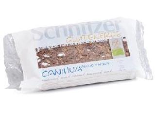 sliced canihua bread gluten free schnitzer 250gr