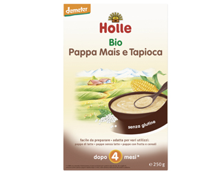 corn and tapioca baby food gluten free holle 250gr
