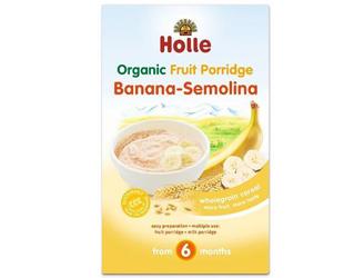semoline and banana porridge holle 250gr