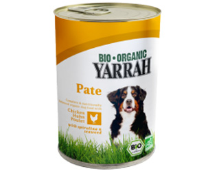 chicken pate for dogs yarrah 400gr