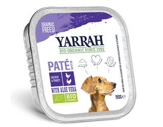 turkey pate for dogs yarrah 150gr
