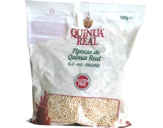 pipocas de quinoa real sem glúten 100gr