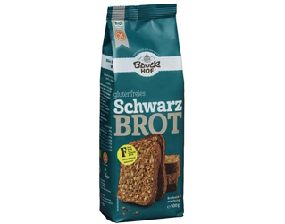 flour for rice bread with seeds gluten free bauck hof 500gr