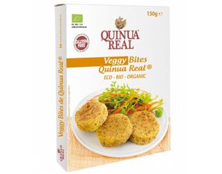 preparado veggy bites de quinoa e chia quinua real 150gr