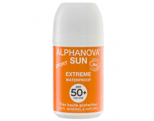 protector solar roll-on sport F50+ alphanova 50g