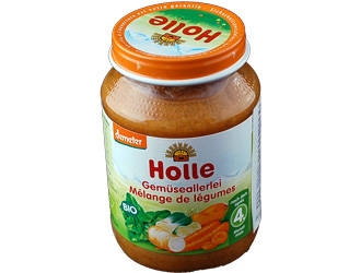 vegetables puré holle 190gr