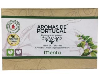mint soap aromas de portugal 80g