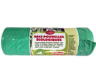 ecological 50L trash bags 20 unit