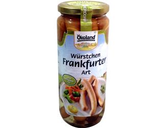 frankfurt sausages 250gr