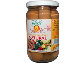 salsichas frankfurt s/gluten vegetalia 175gr