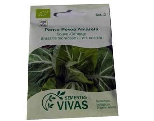 sementes de couve penca póvoa amarela sementes vivas 2,5g