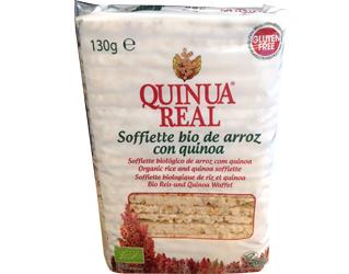 rice soffiette royal quinoa  gluten free130gr