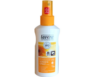 spray solar F20 lavera 125ml