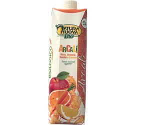 oranje, carrot and lemon juice natura nuova 1lt