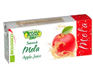 apple juice natura nuova 3x200ml