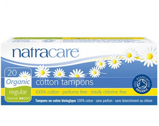 cotton tampons regular natracare 20unid