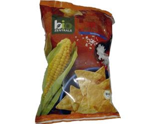 strips of corn with salt gluten-free  bio zentrale 125gr