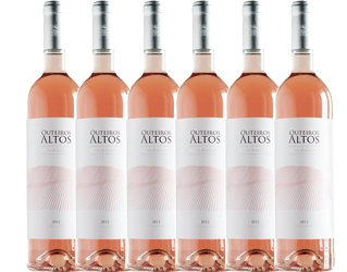 rose wine herdade dos outeiros altos 0,75lt cx6