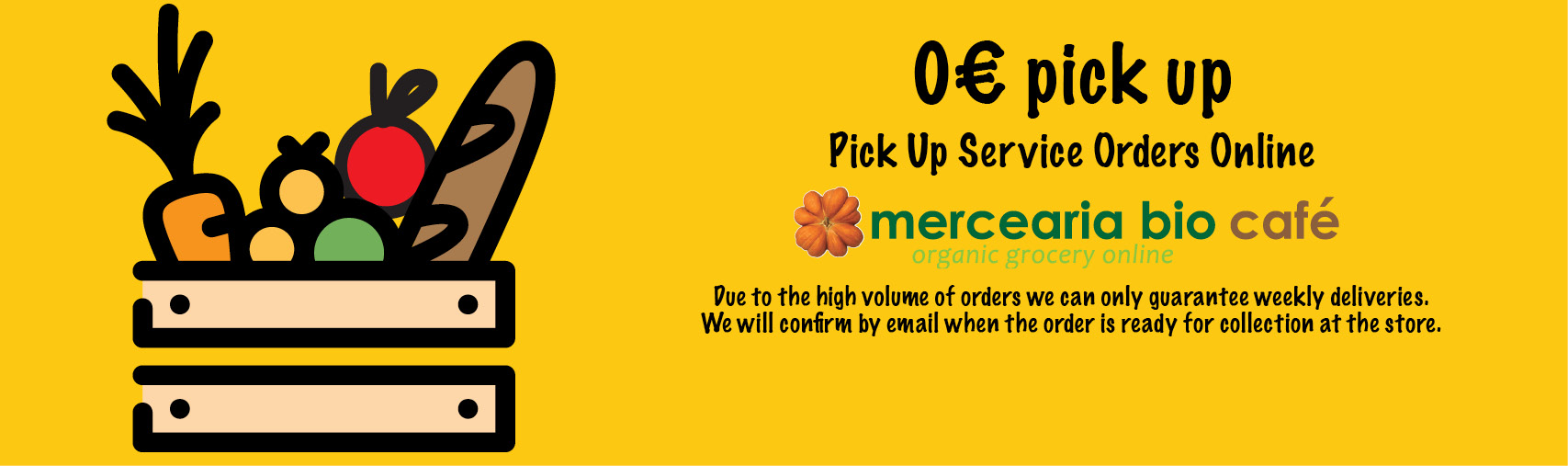 Pick Up Service Orders Online Mercearia Bio Café